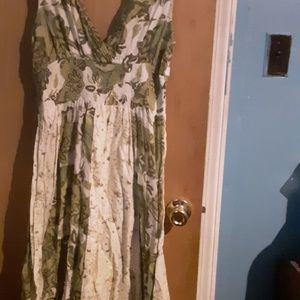 Jane Ashley long maxi dress